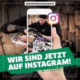 Stahlwille Instagram Post – schalten & walten